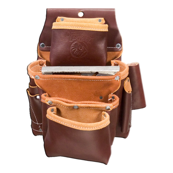 Leather Fastener Bags